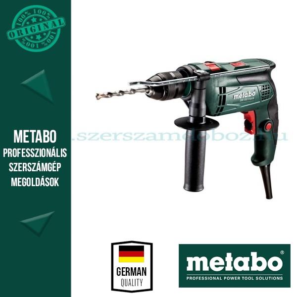 Metabo SBE 650 Impuls Ütvefúrógép gyorstokmánnyal