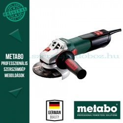 Metabo WEV 10-125 Quick Sarokcsiszoló