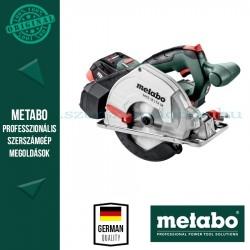 Metabo MKS 18 LTX 58 akkus kézi körfűrész (2x LiHD 5,5Ah)