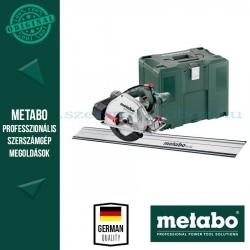Metabo Set MKS 18 LTX 58 köfűrész alapgép kofferben + FS 160 vezetősínnel