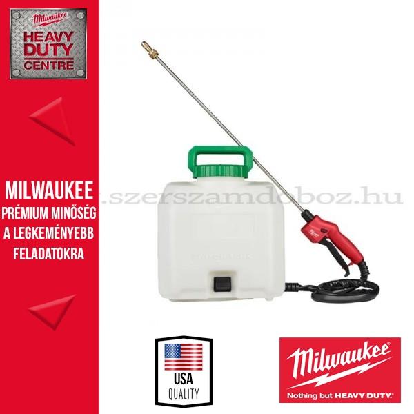 MILWAUKEE M18 BPFP-CST Vegyszer permetező tartály 15l