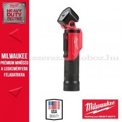 MILWAUKEE L4 PWL-201 USB ÚJRATÖLTHETŐ FORGATHATÓ LÁMPA