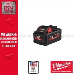 MILWAUKEE M18 HB5.5 18V 5.5AH AKKUMULÁTOR