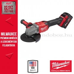 MILWAUKEE M18 FHSAG125XB-552X FUEL™ 125 MM SAROKCSISZOLÓ, CSÚSZÓKAPCSOLÓVAL