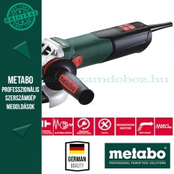 "Metabo WE 15-125 Quick Sarokcsiszoló ""Autobalancer"""
