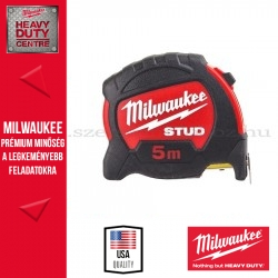 MILWAUKEE Mérőszalag STUD 5 m / 27 mm - 1 db