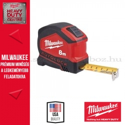 MILWAUKEE Mérőszalag AUTOLOCK 8 m / 25 mm - 1 db