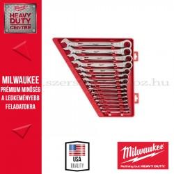 MILWAUKEE MAX BITE™ Csillag-villáskulcs készlet, colos 15 részes
