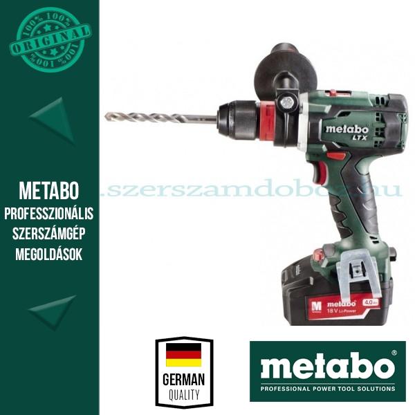 Metabo SB 18 LTX Quick Akkus fúró-csavarozó 4,0Ah
