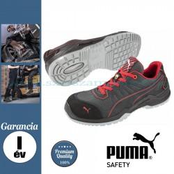 Puma Fuse TC Red S1P ESD SRC Védőcipő