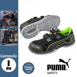 Puma Neodyme Green Low S1P ESD SRC Védőszandál