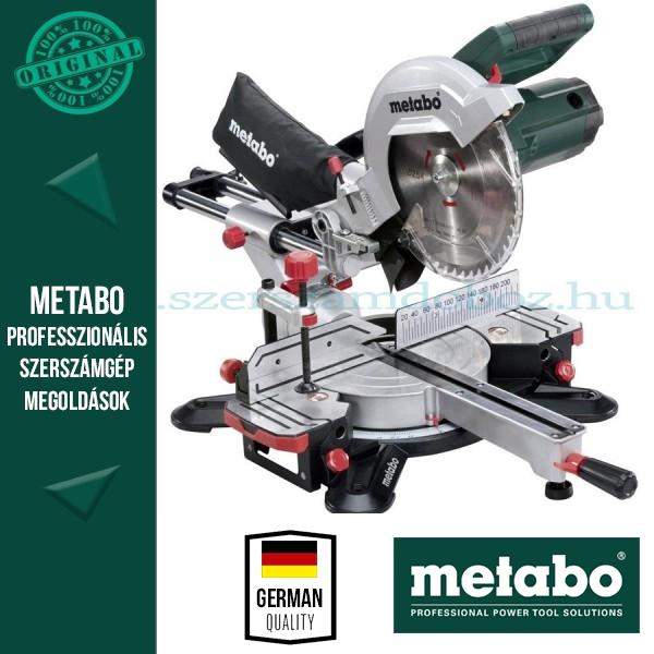 Metabo KGS 254 M Gérvágófűrész