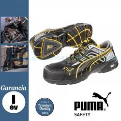 Puma Pace Black Low S3 HRO SRA Védőcipő