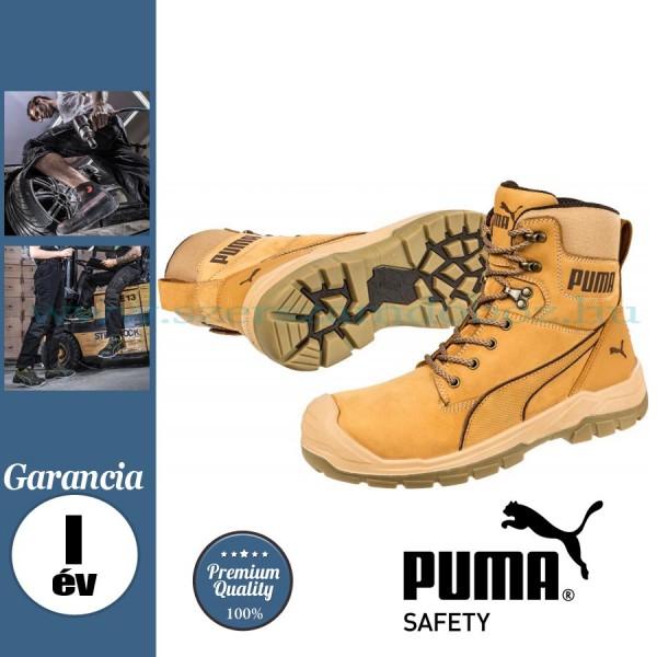 Puma Conquest Wheat High S3 HRO SRC védőbakancs