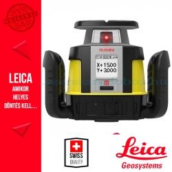 Leica Rugby CLH forgólézer + CLX 200 szoftver + COMBO kombinált vevőegység és távirányító