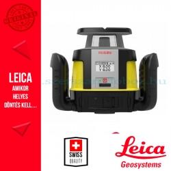 Leica Rugby CLH forgólézer + CLX 400 szoftver + COMBO kombinált vevőegység és távirányító
