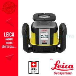 Leica Rugby CLA forgólézer + CLX 700 szoftver + COMBO kombinált vevőegység és távirányító