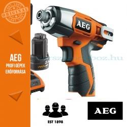 AEG BSS12CLI-202C Akkus ütvecsavarbehajtó