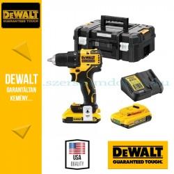 DEWALT DCD708D2T-QW 18V XR szénkefe nélküli fúrócsavarozó