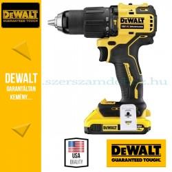 DEWALT DCD709D2T-QW 18V XR szénkefe nélküli fúrócsavarozó