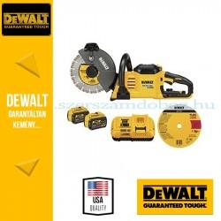 DEWALT DCS690X2-QW 54V XR FLEXVOLT akkus betonvágó