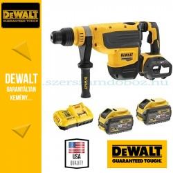 DEWALT DCH733X2-QW 54V XR FLEXVOLT 48mm SDS-MAX fúrókalapács