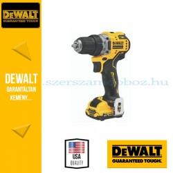 DEWALT DCD701D2-QW 12V XR kefe nélküli fúrócsavarozó