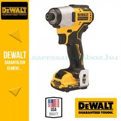 DEWALT DCF801D2-QW 12V XR kefe nélküli ütvecsavarozó