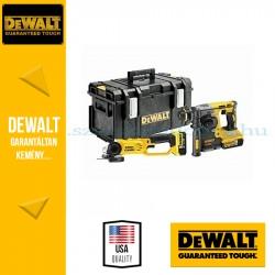 DEWALT DCK272P2-QW 18V erőcsomag (DCH273 kefe nélküli SDS-Plus fúróvésőkalapács + DCG412 sarokcsiszoló)