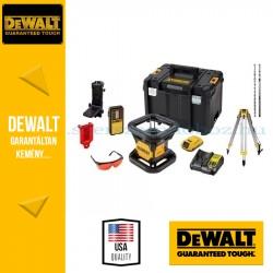 DEWALT DCK374D1R-QW önbeálló forfólézer piros