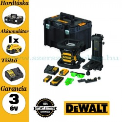 DEWALT DCE080D1GS-QW önbeálló forgólézer zöld