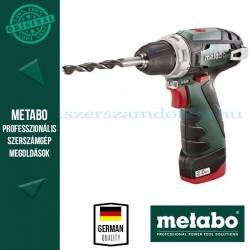 Metabo PowerMaxx BS  Fúró-csavarozó 3 akkuval