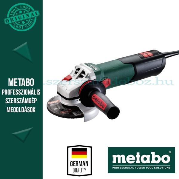 Metabo WEV 15-125 Q HT Sarokcsiszoló állítható sebességgel
