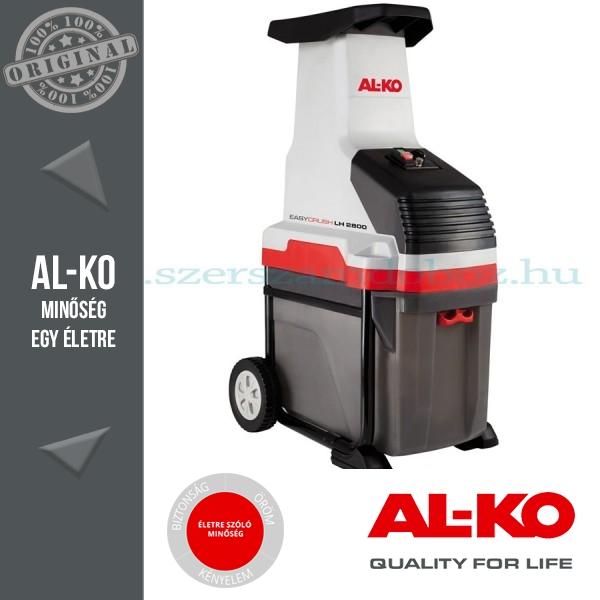 """AL-KO LH2800 """"Easy Crush"""" Elektromos  komposztaprító hengerkéssel"""