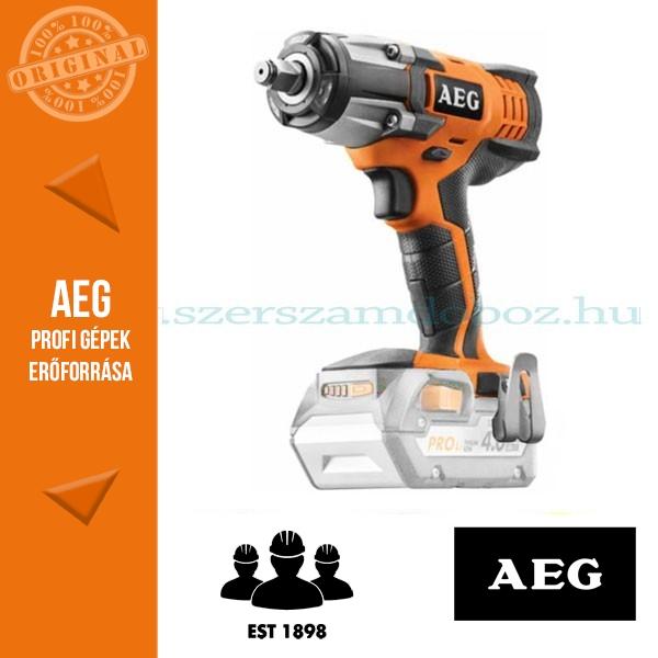 AEG BSS 18C12ZLI-0 Akkus ütvecsavarbehajtó