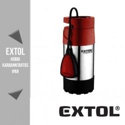 EXTOL PREMIUM búvárszivattyú tiszta vízhez úszókapcsolóval, 1000 W, 91 liter/perc – 8895008