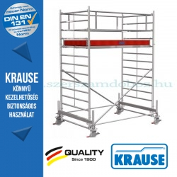 Krause Stabilo Professional gurulóállvány, 500-as sorozat - egyszintes - mezőhossz 2,50 m