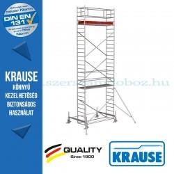 Krause Stabilo Professional gurulóállvány, 100-as sorozat - kétszintes - mezőhossz 3,00 m