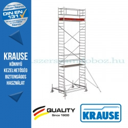 Krause Stabilo Professional gurulóállvány, 100-as sorozat - kétszintes - mezőhossz 2,50 m