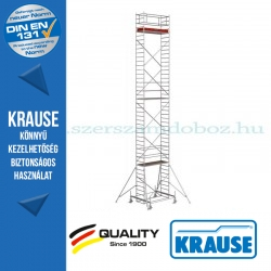 Krause Stabilo Professional gurulóállvány, 100-as sorozat - háromszintes - mezőhossz 2,00 m