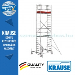 Krause Stabilo Professional gurulóállvány, 100-as sorozat - kétszintes - mezőhossz 2,00 m