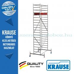 Krause Stabilo Professional gurulóállvány, 10-es sorozat - háromszintes - mezőhossz 2,00 m