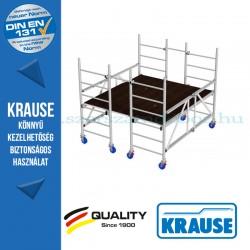 Krause Monto ProTec XS-P alumínium dobogós állvány - egyszintes