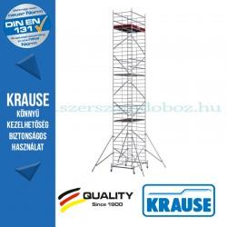 Krause Monto ProTec XXL alumínium gurulóállvány, széles változat - háromszintes