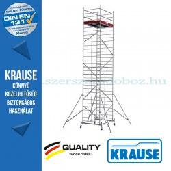 Krause Monto ProTec XXL alumínium gurulóállvány, széles változat - kétszintes