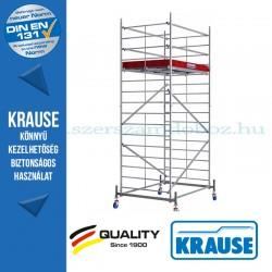 Krause Monto ProTec XXL alumínium gurulóállvány, széles változat - egyszintes