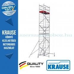 Krause Monto ProTec alumínium gurulóállvány - kétszintes