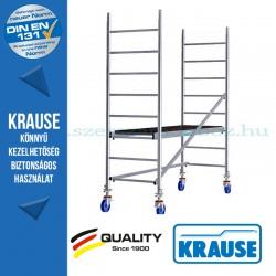 Krause Monto ProTec alumínium gurulóállvány - egyszintes