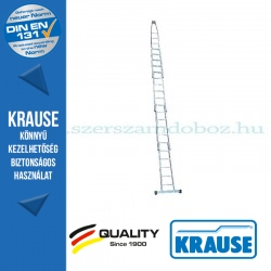 Krause ablaktisztító létra 13 fokos 2 részes készlet