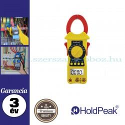 HOLDPEAK 6205 digitális lakatfogó, multiméter